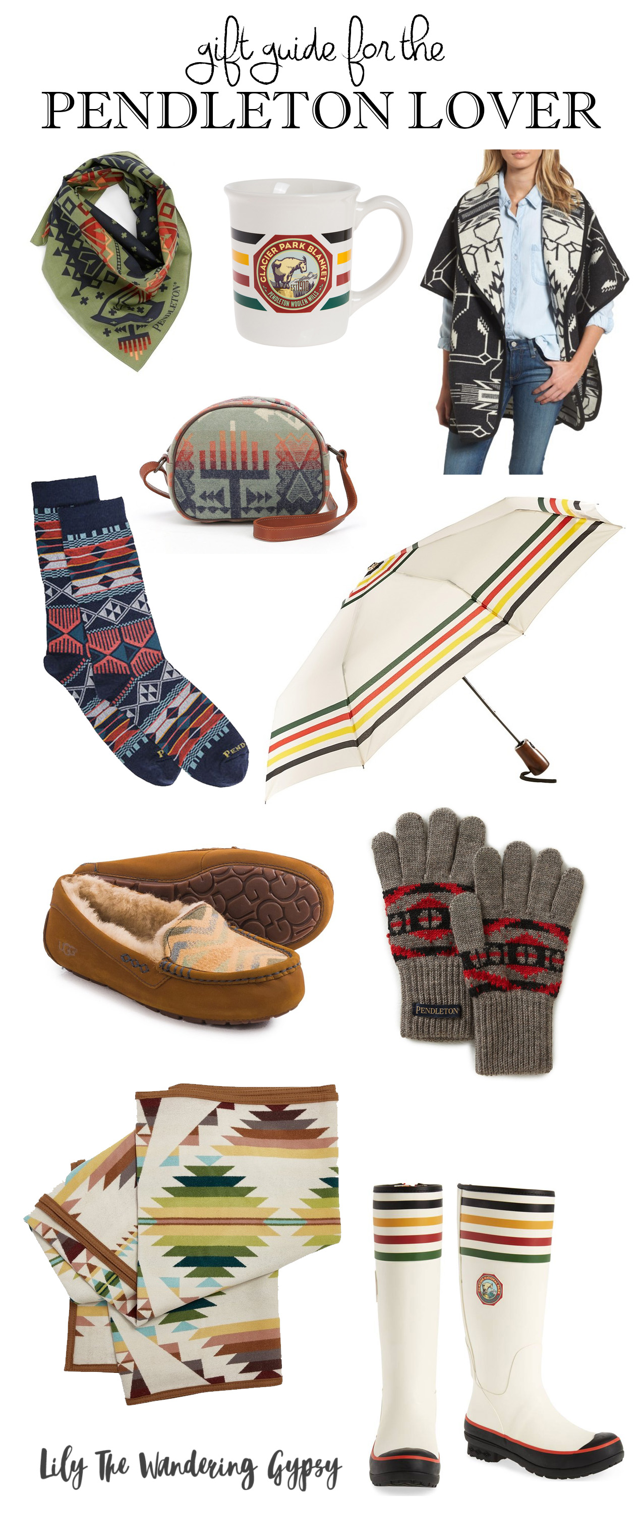 Gift Guide For The Pendleton Lover!