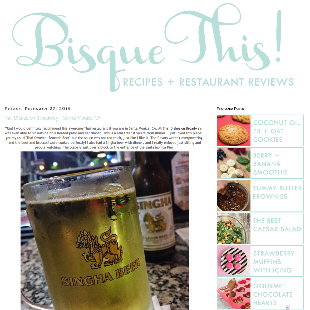 Bisque This!   Feb 27, 2015