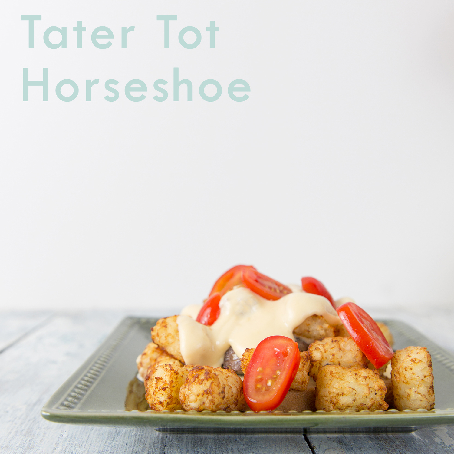 Tater Tot Horseshoe Sandwiches   Mar 3, 2015