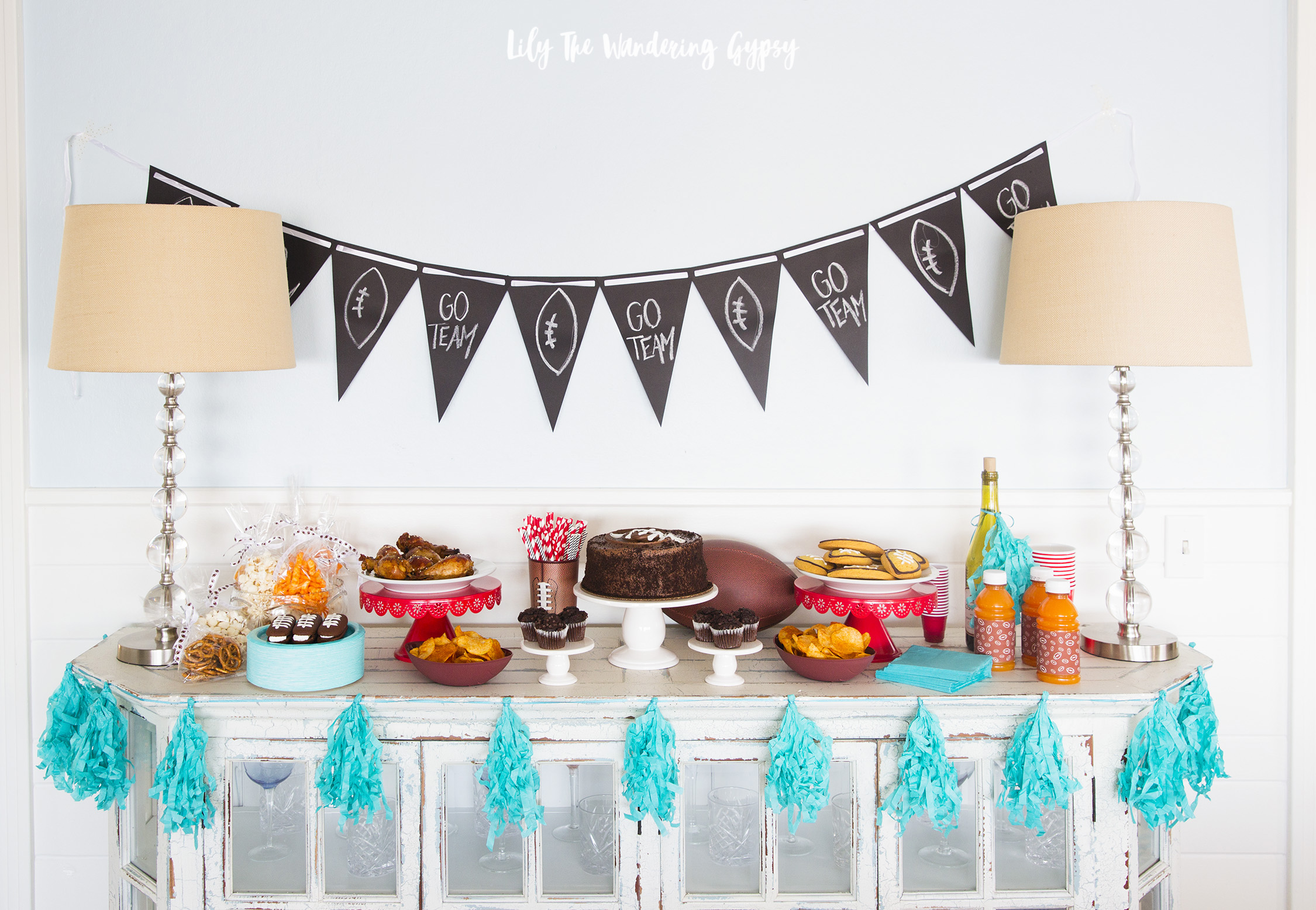 Game Day Decor and Food Ideas!