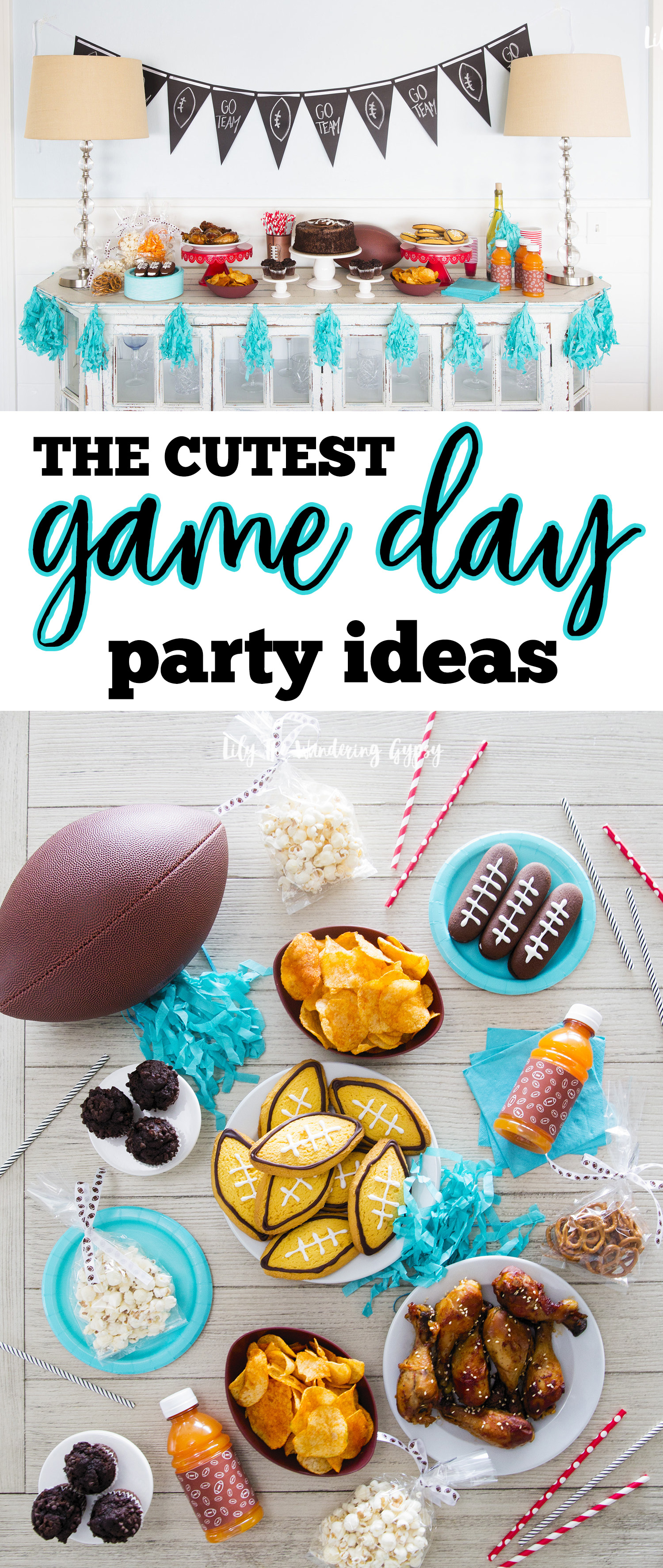 Cutest Game Day Party Decor!
