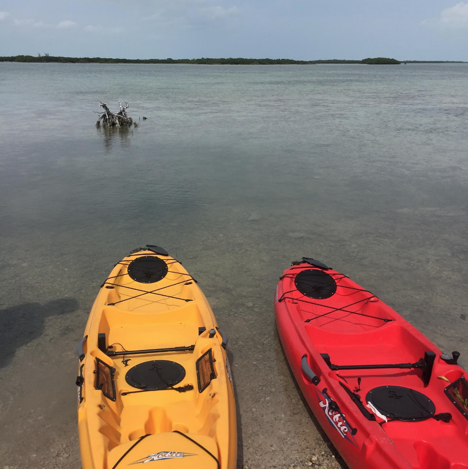Kayaking on Summerland Key, FL
