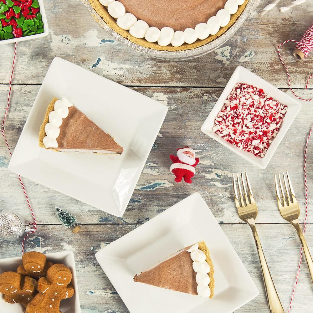 Frozen Hot Chocolate Pie