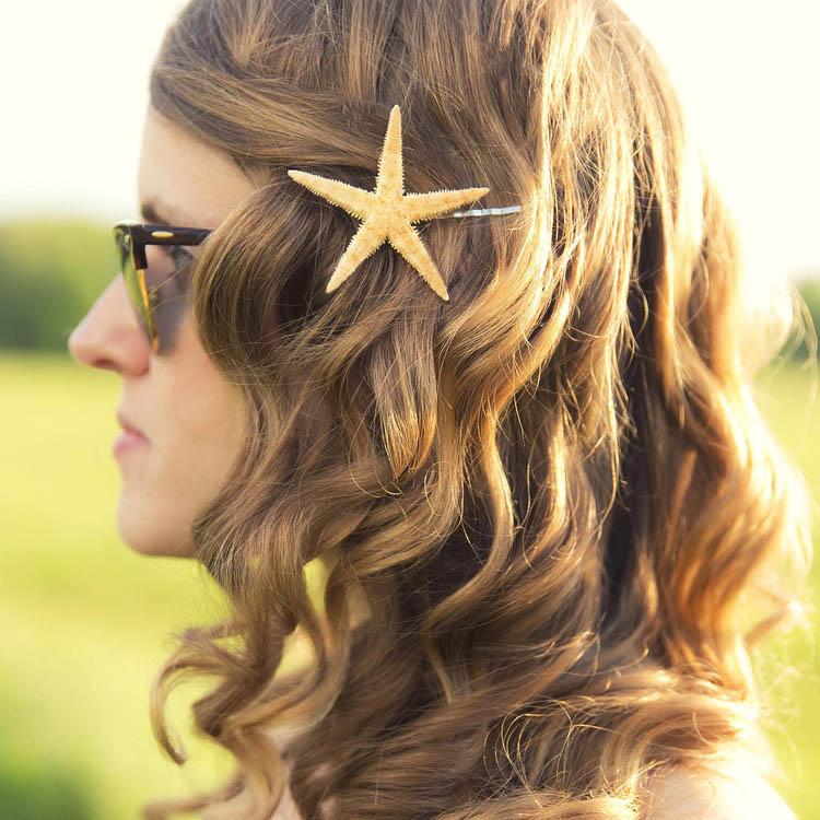 Easy Starfish Hair Clip Tutorial