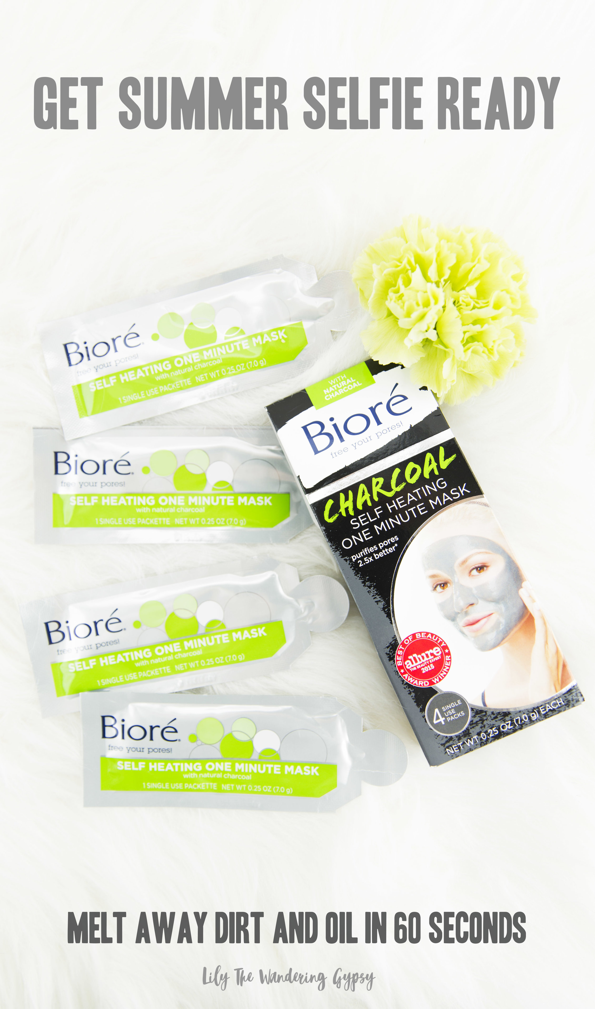 The Bioré One Minute Self Heating Mask