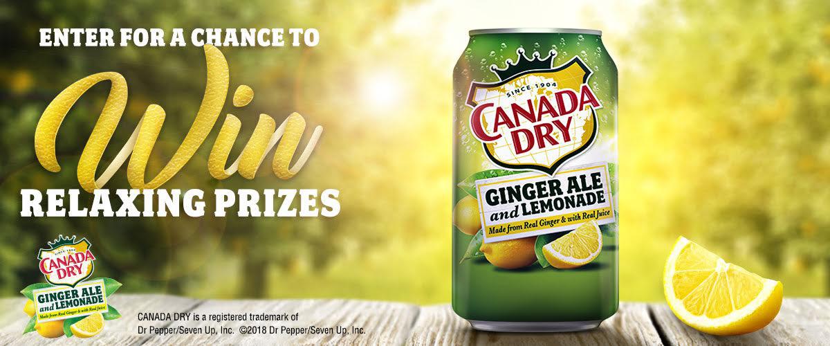 Canada Dry Ginger Ale + Lemonade