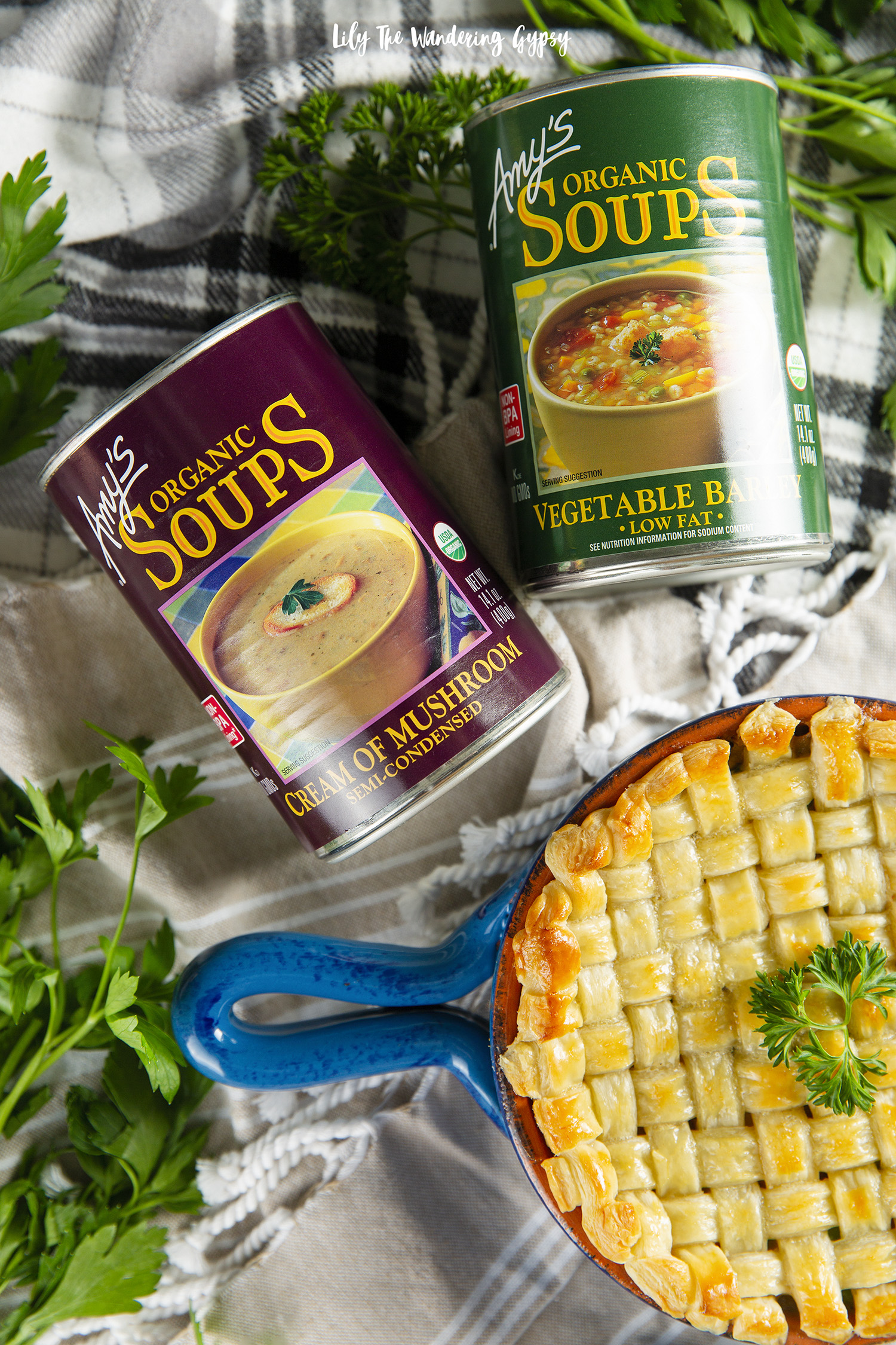 Vegetarian Pot Pie Recipe #StartWithAmys