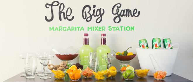 The Big Game  - Margarita Mixer Station