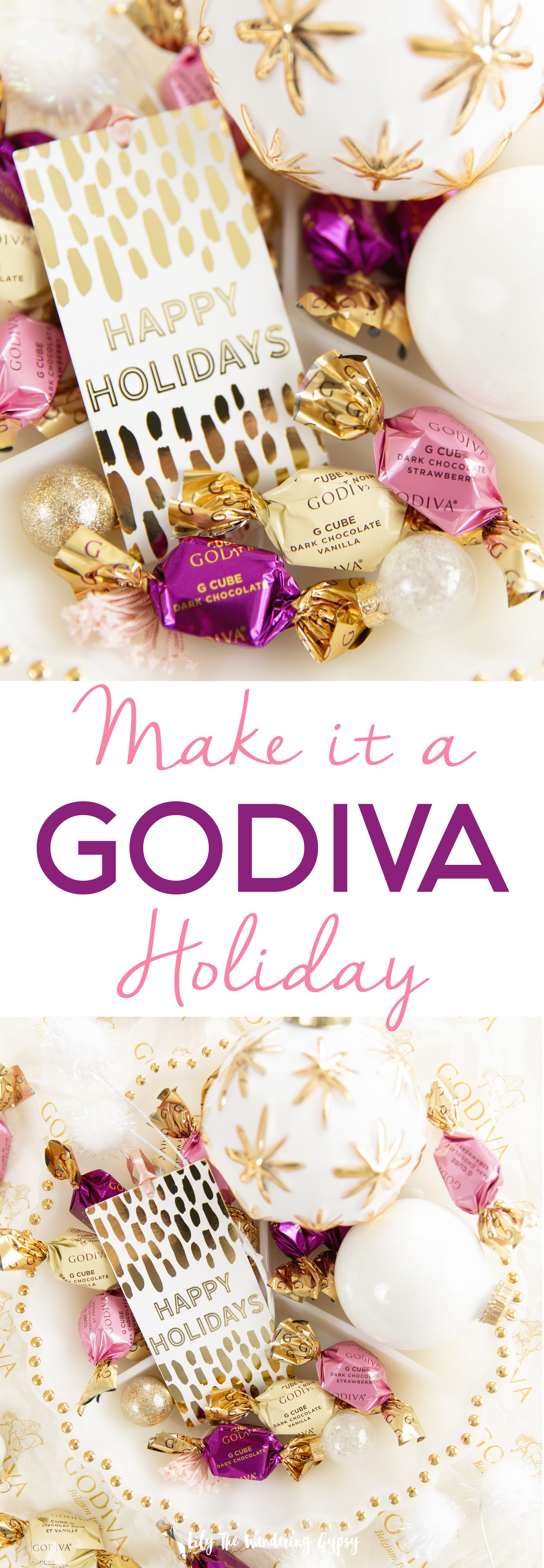 Make It A Godiva Holiday! Godiva G Cubes
