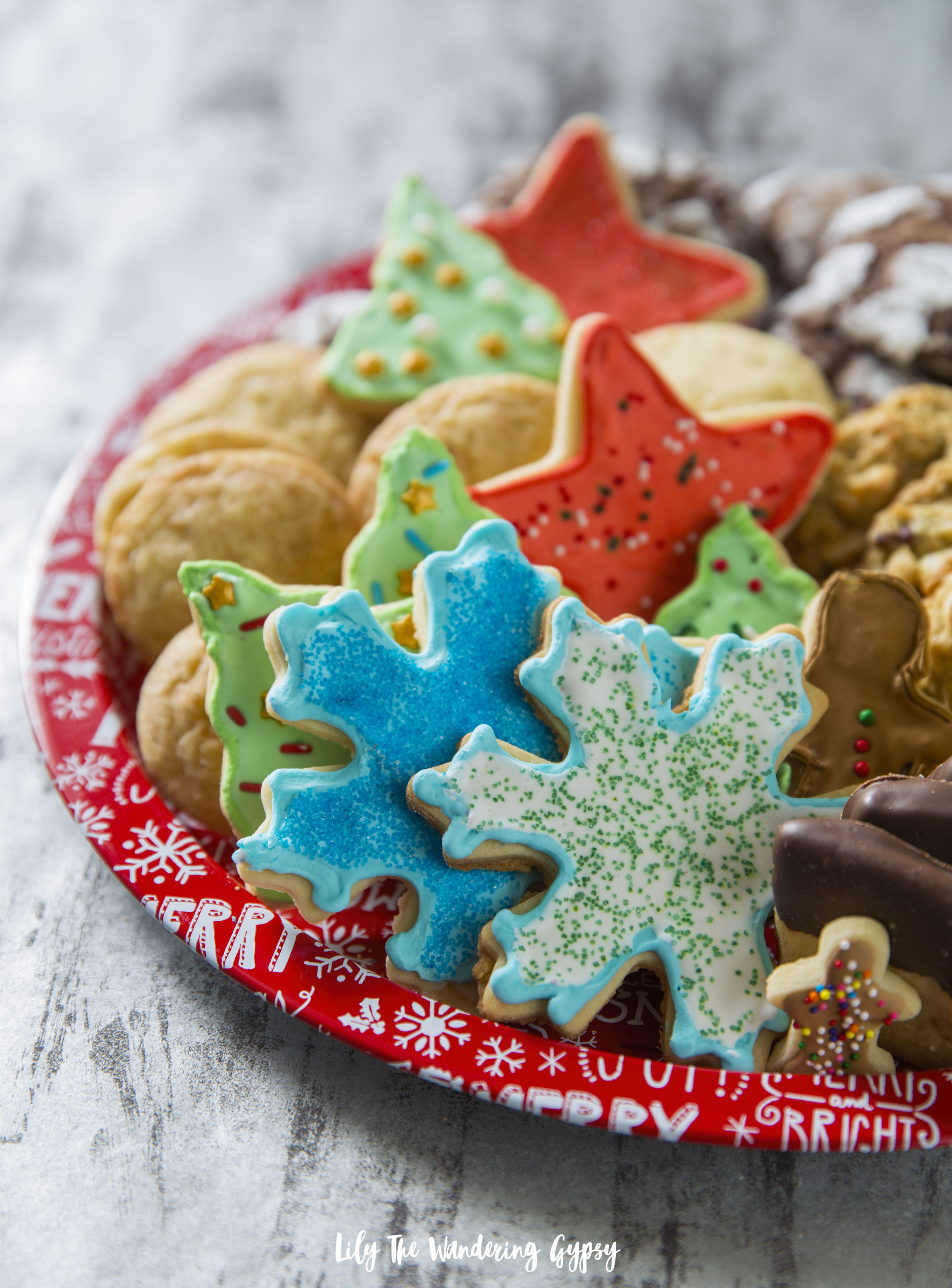 Perfect Cutout Sugar Cookies - Iced