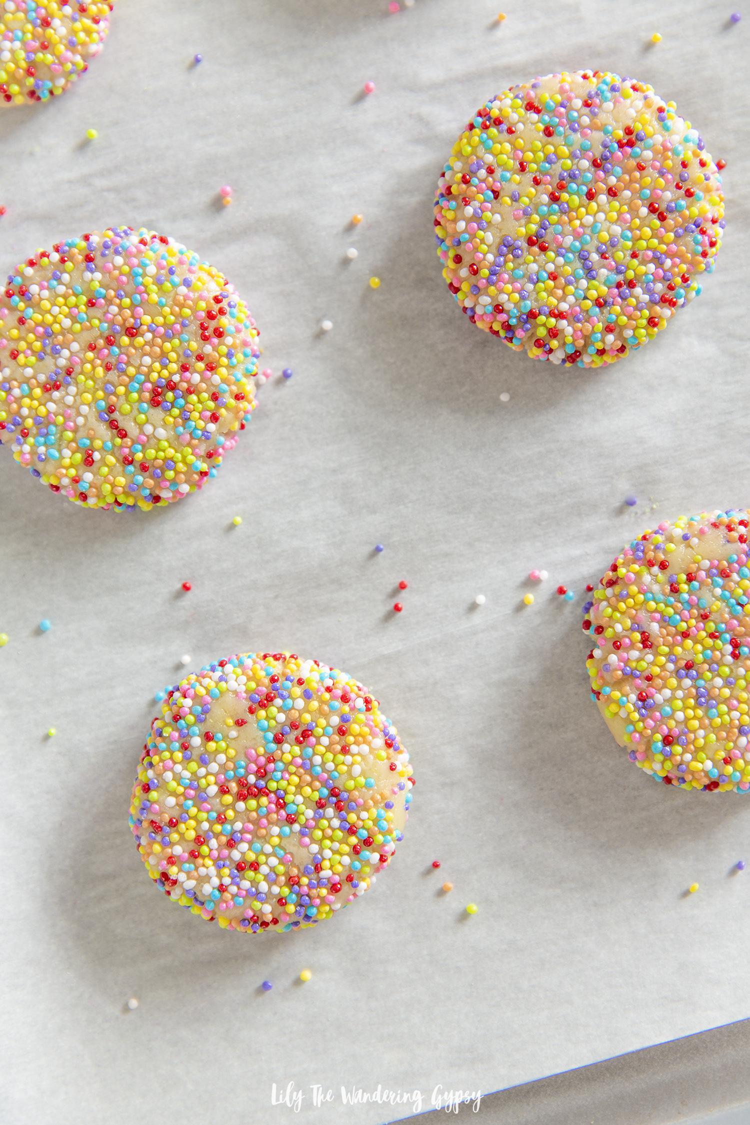 Light + Crispy Sugar Cookies