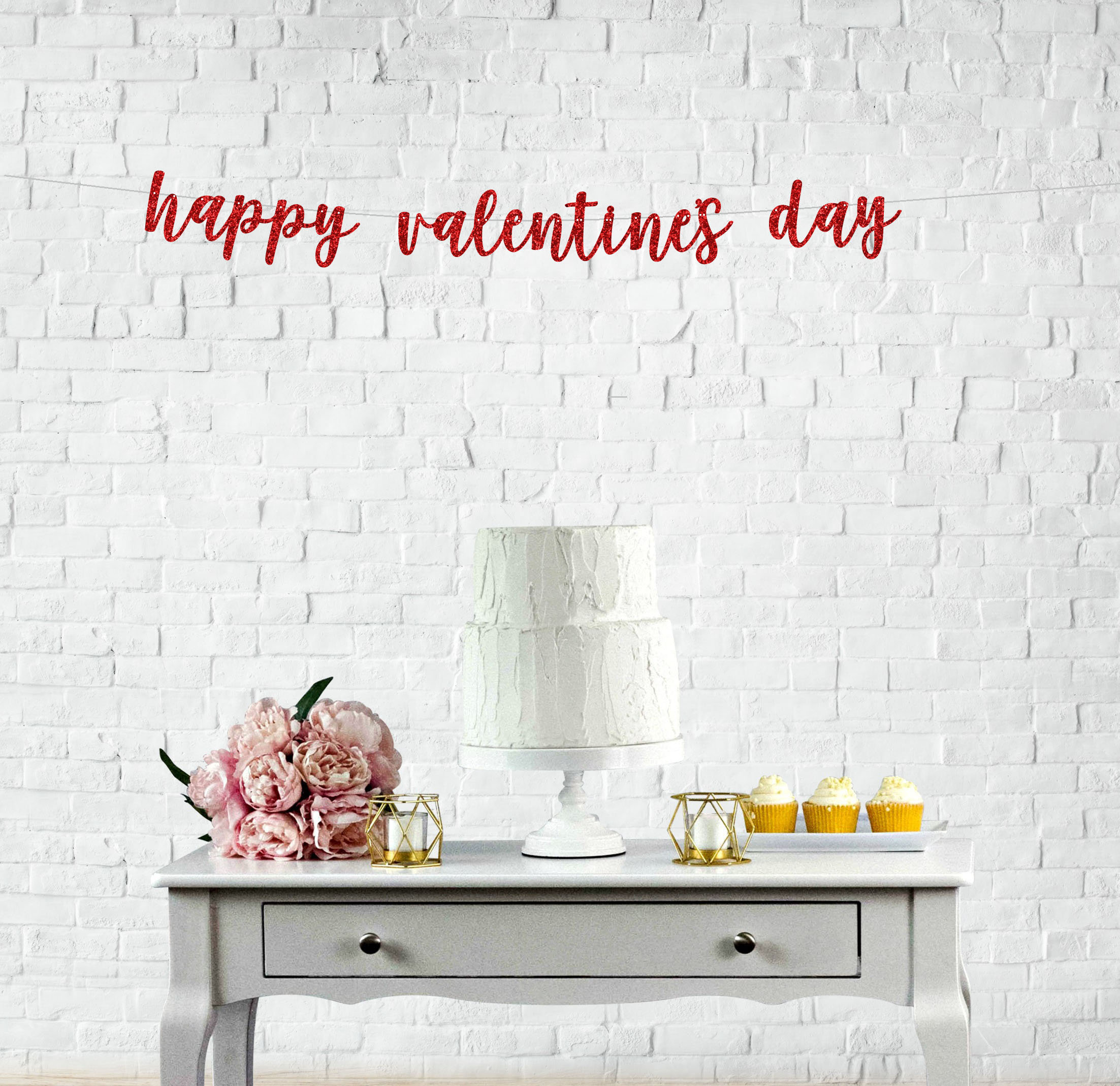 Happy Valentine's Day Party Garland