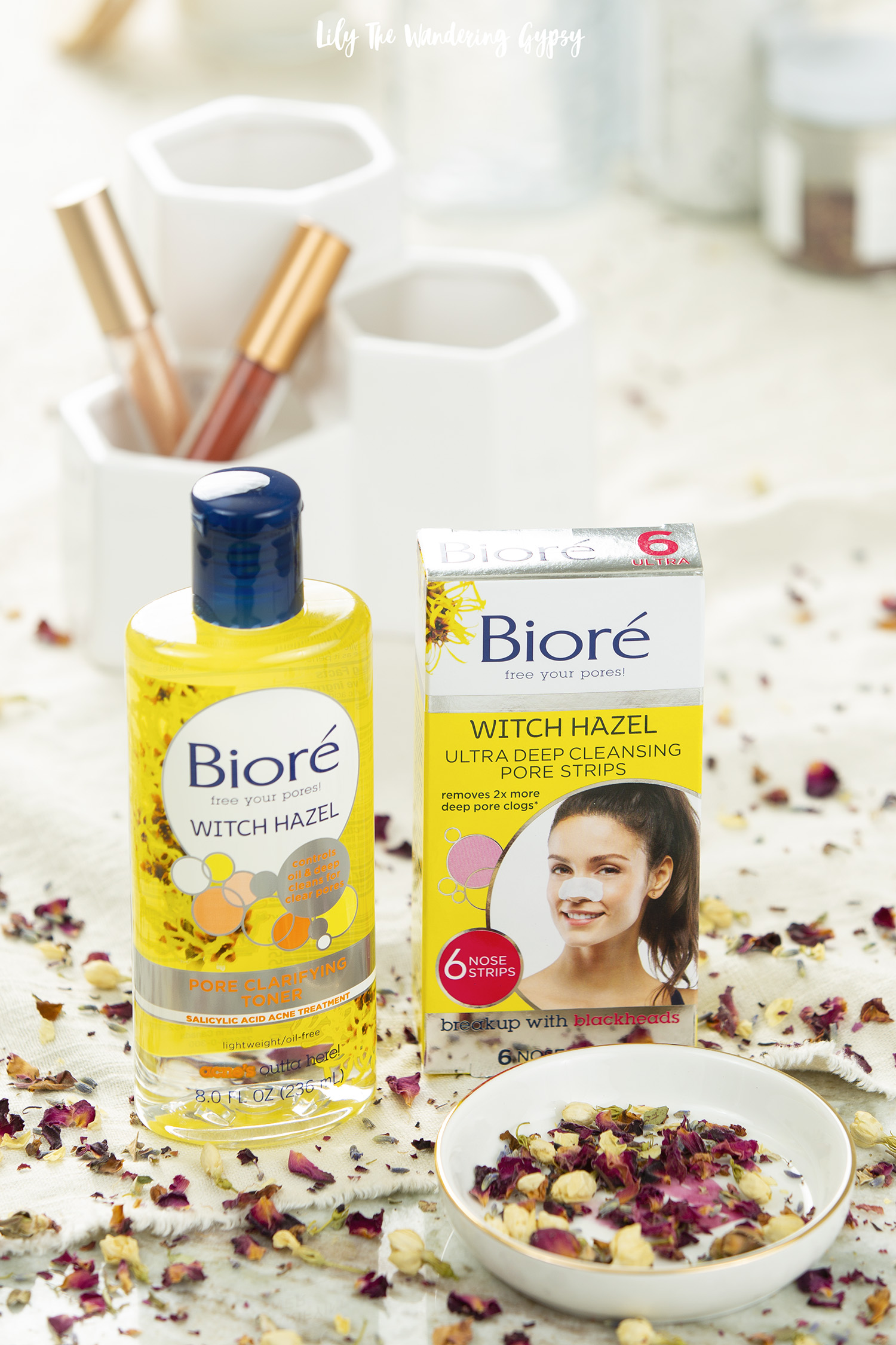 Get amazing skincare results with Bioré Witch Hazel products #BioreWitchHazel #BioreAmbassador #BioreBabe