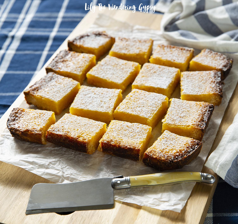 Lemon Bars with Shortbread Crust Recipe