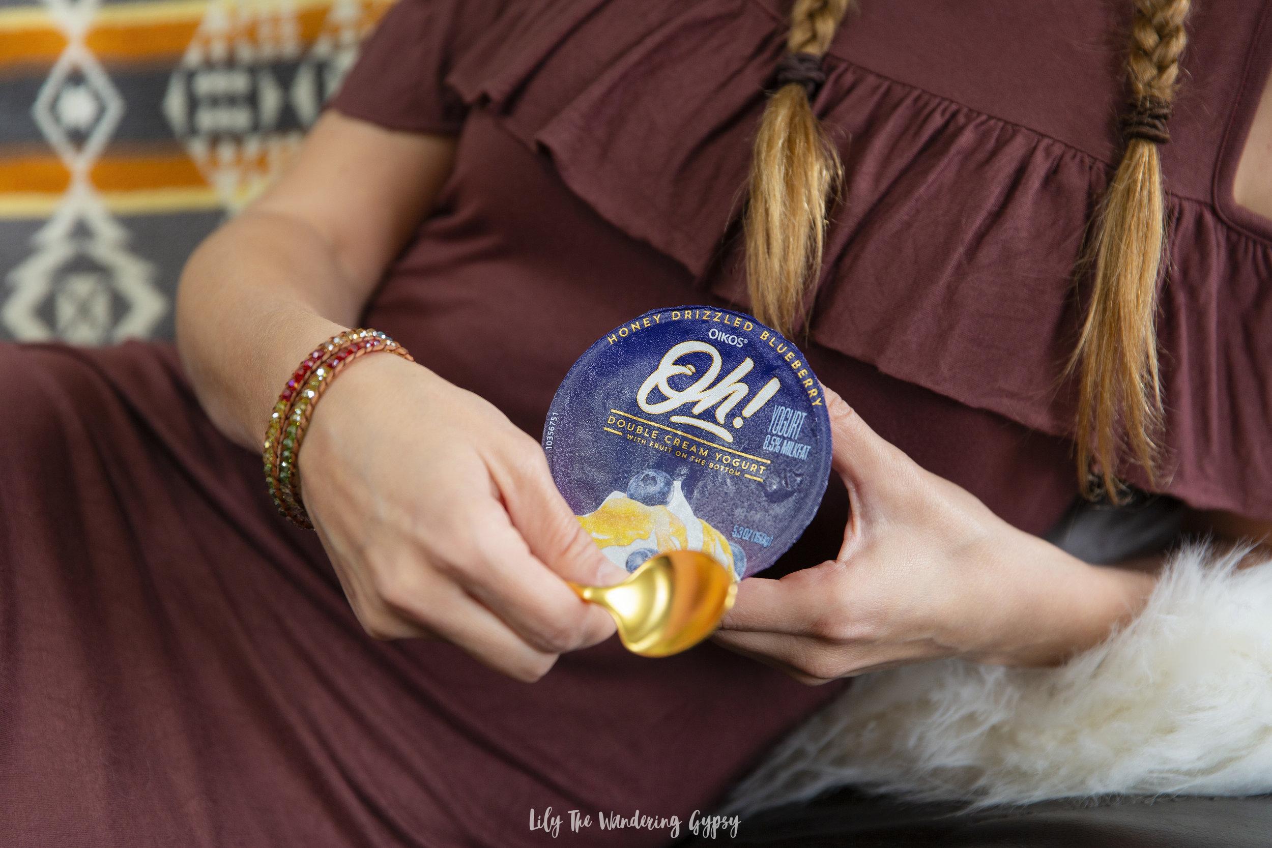 Oikos Oh! Double Cream Yogurt #OhMGMoments