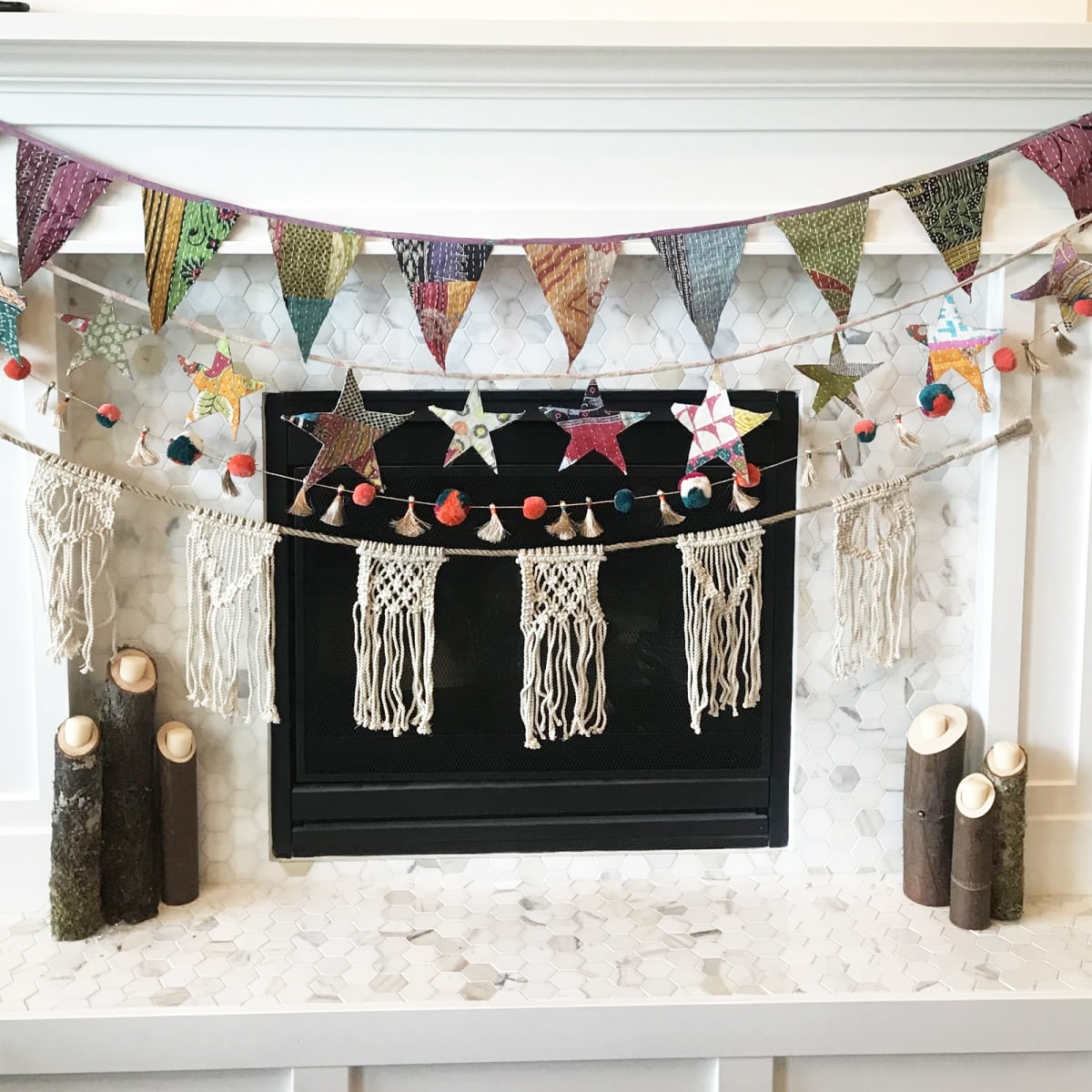 This Boho Flag Bunting is SO cute! I would love to decorate my home with this.  $14.99 plus $3.99 Shipping for the first item and $2.29 for each additional item. US only. Seller usually ships within 5 business days. Ships no later than Thu, Aug 29.