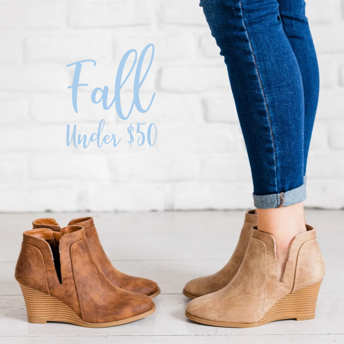 These popular, side-cut booties are amazing. They would really dress up an outfit with little effort, a big plus in my opinion!   $34.99 plus Free Shipping. US only. Seller usually ships within 2 business days. Ships no later than Wed, Aug 28.