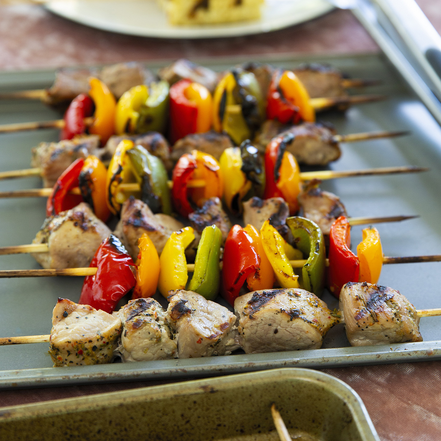 Local Veggie Kebabs Recipe