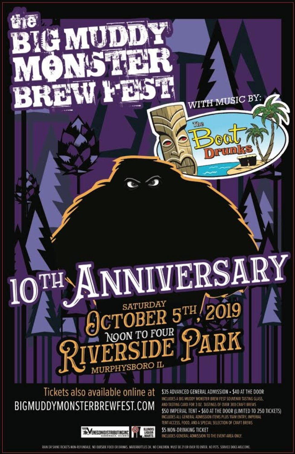 10th Annual Big Muddy Monster Brew Fest 2019
