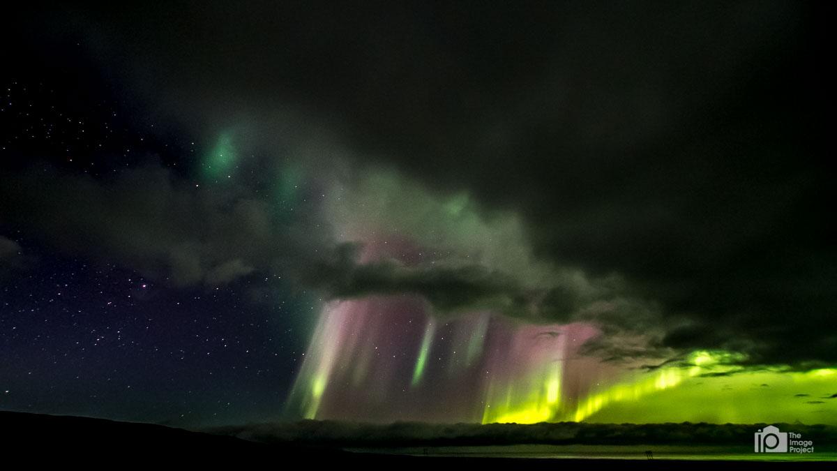 Like multicoloured lightning...