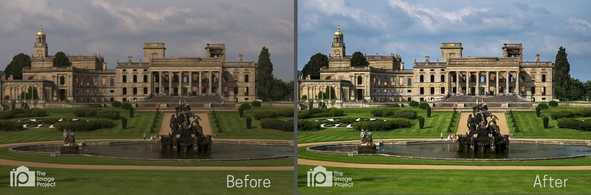 Photo processing and enhancing with Lightroom on the Image Project workshops by Nathan Barry - this one at Witley Court