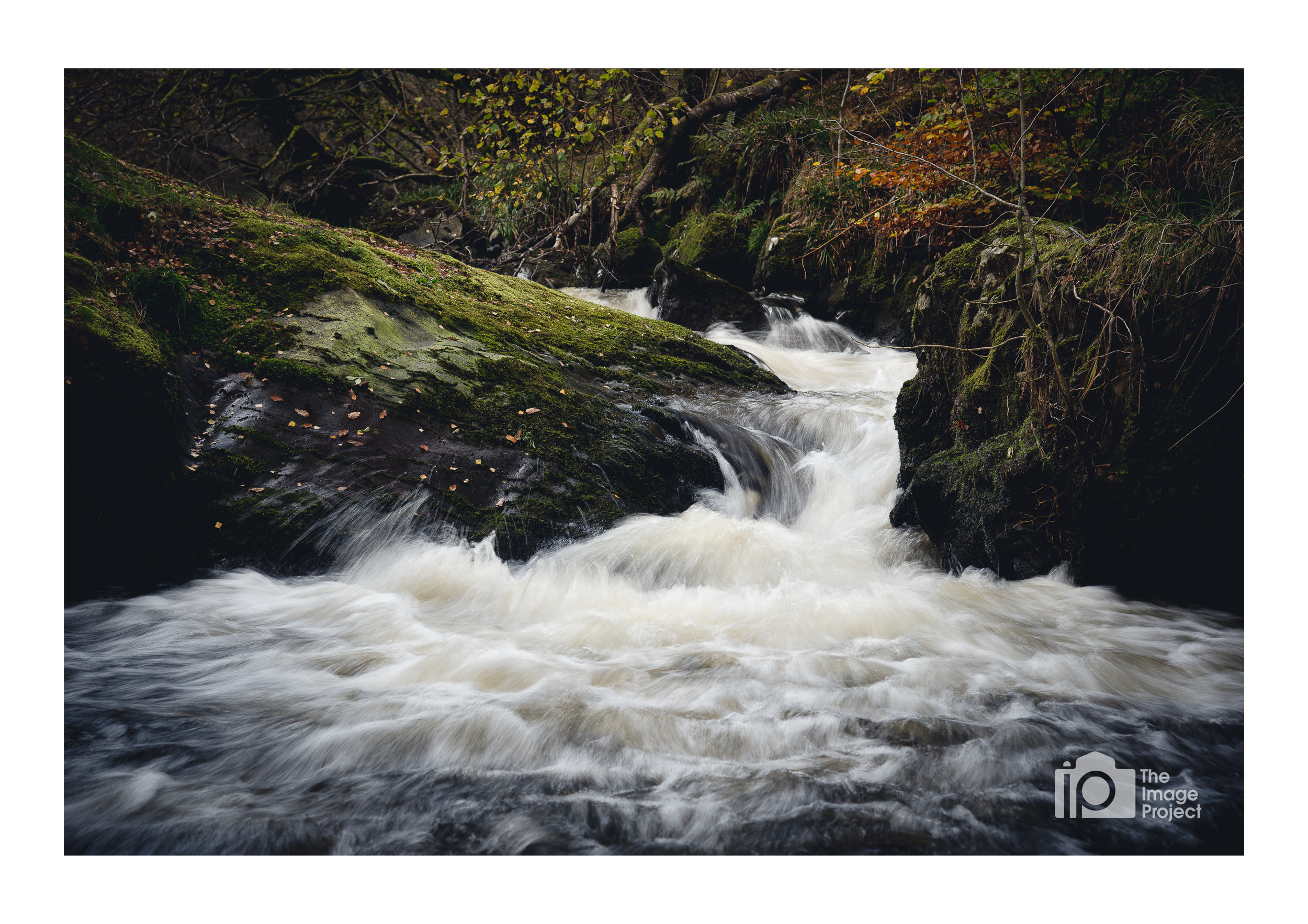 Small falls near Aira Force in autumn