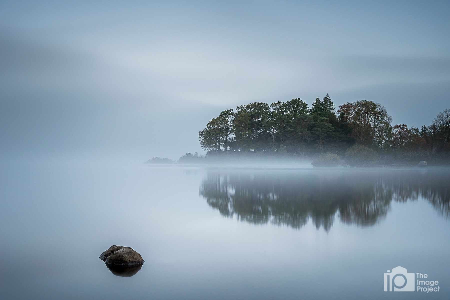Early morning mist at Derwentwater