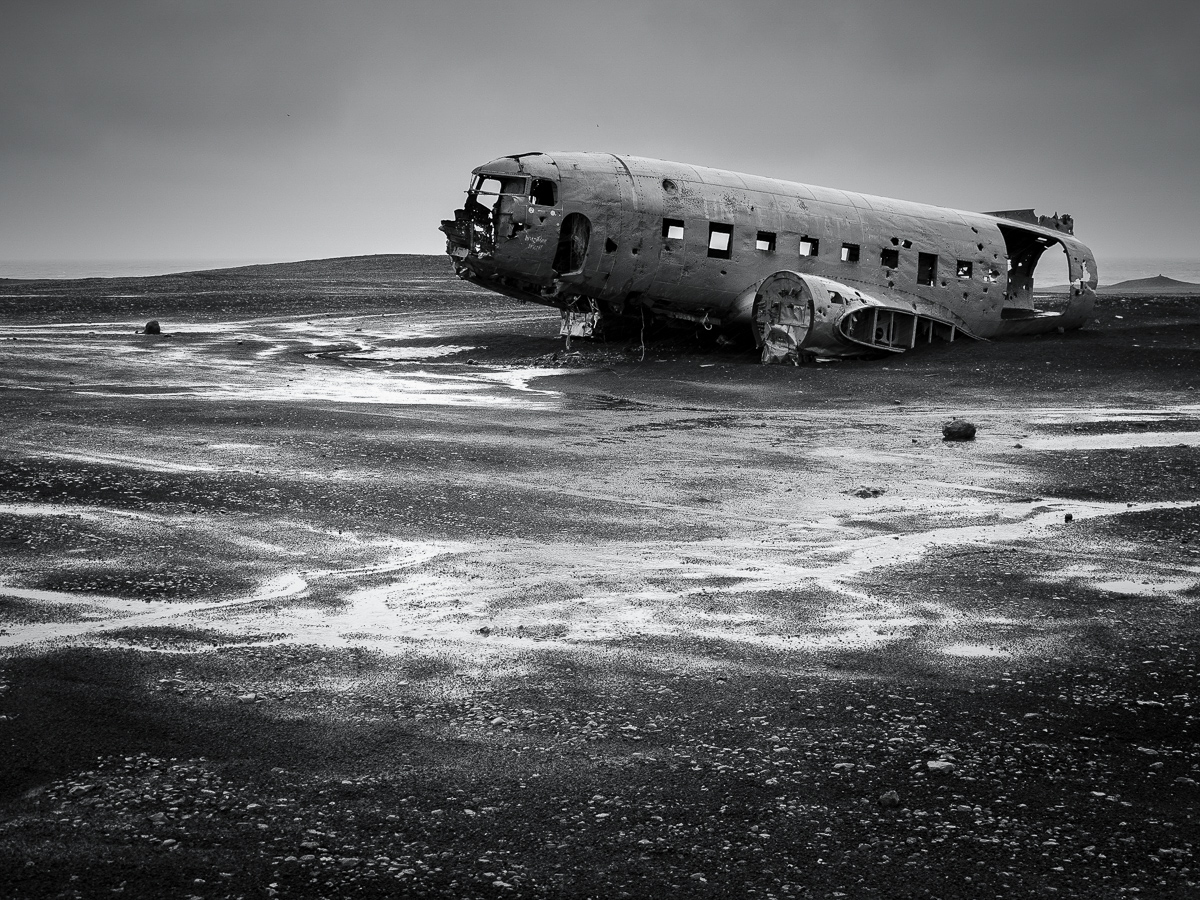 DC-3 wreck, Iceland