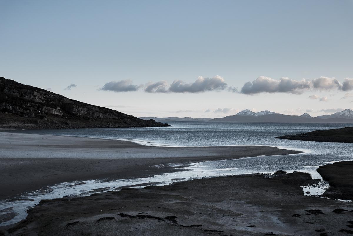 Pale sunset, Torridon
