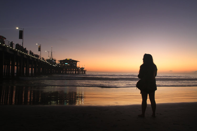 Santa Monica, CA. Photograph by  jvphoto