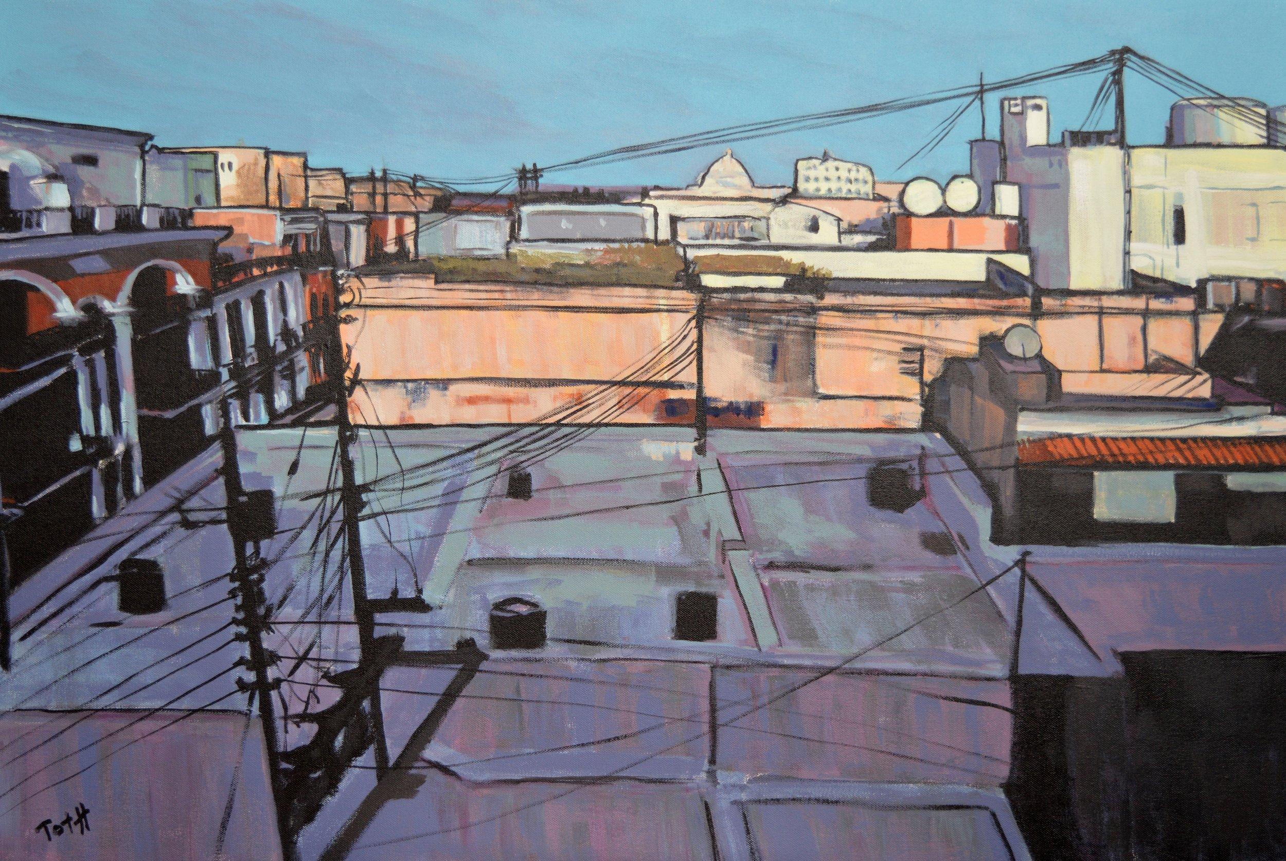 Rooftops of Old San Juan