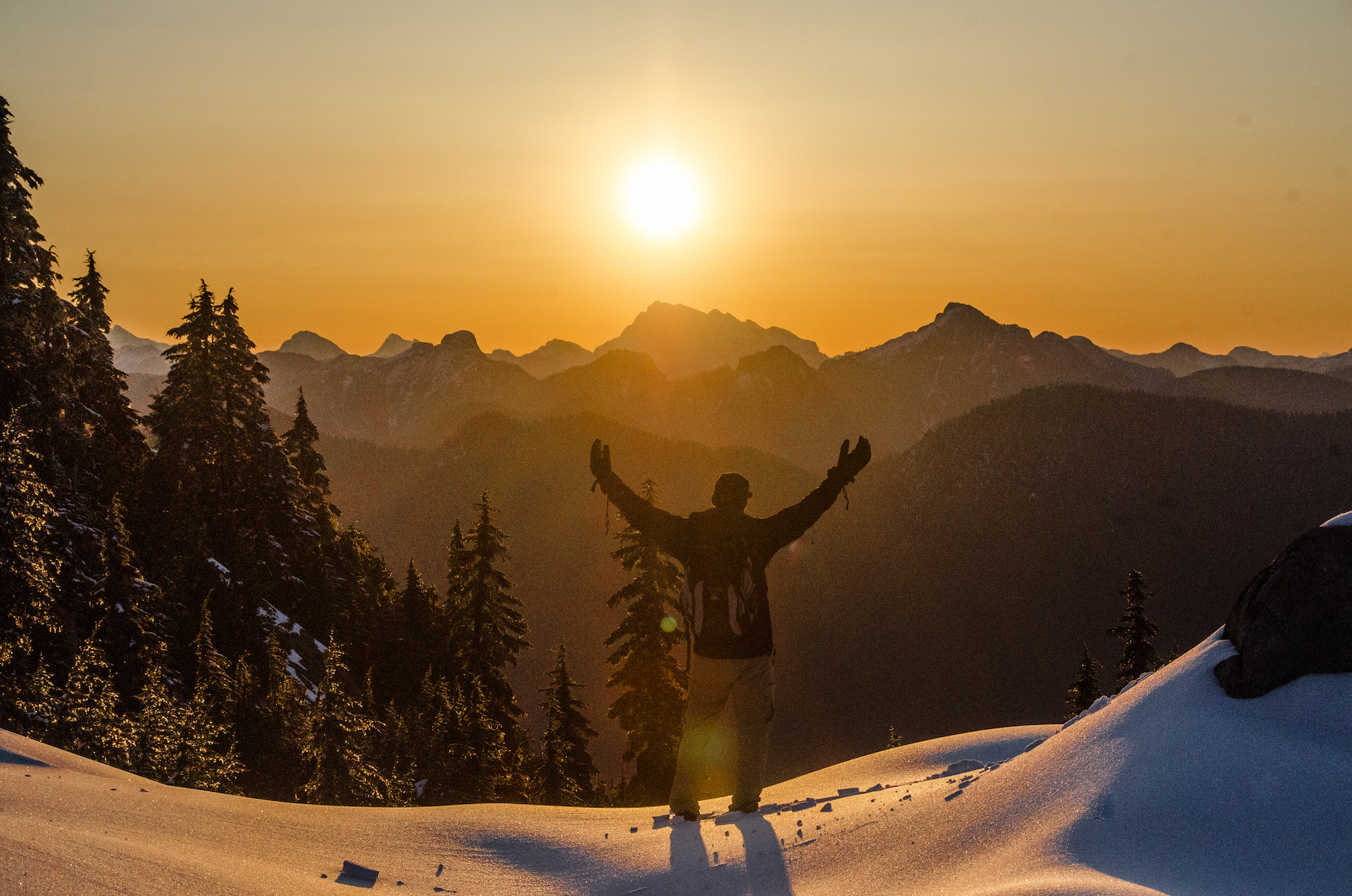 Photo by Adam Nagy. Taken up Mount Seymour on April 5th, 2015!