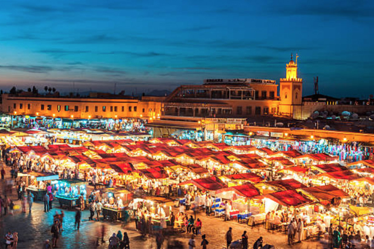 Meet Up in Marrakech - Start your trip off by meeting up with the rest of the crew in Marrakech. Arrive early and make sure you give yourself some time to check into the hostel and explore city.