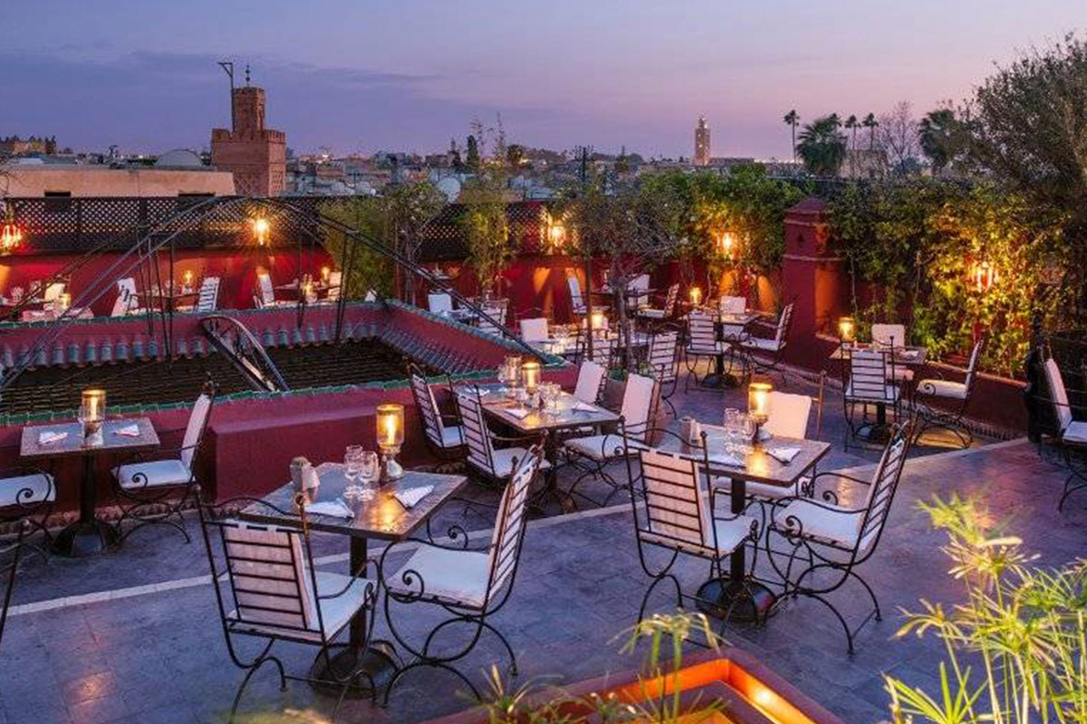 Group Welcome Dinner overlooking the Souks of Marrakech - The trip will officially kick off with a Group Welcome Dinner overlooking the Souks of Marrakech. The dinner will include a trip intention setting workshop, an opportunity to get to know the crew, and oh yeah, the dinner is on us.
