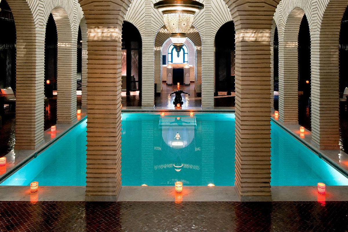 Spa Day at a Marrakech Hammams - An optional activity (cost covered by guest), spend the day unwinding from the trip at one of the famous Marrakech Hammams (bath houses).