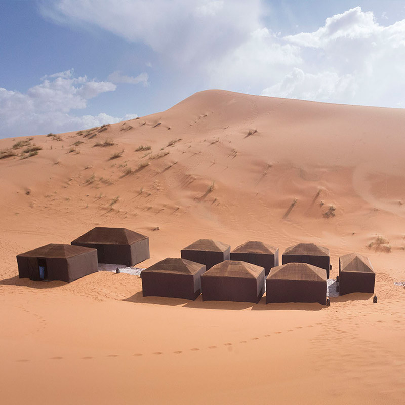 NYE IN THE SAHARA - 4x4 into the Sahara desert and spend New Years Eve at a private Moroccan Berber camp. You'll ring in 2019 under the stars, at the base of the sand dunes, with some pretty rad humans.