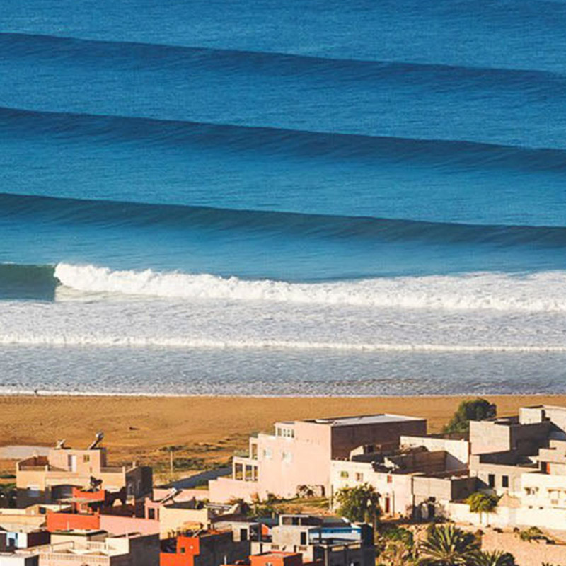 SURF RETREAT - You'll be taken on a three-day surf and explore retreat in Tamraght. All your gear and lessons will be covered and will be complimented with daily yoga session, communal meals, and daily workshops.