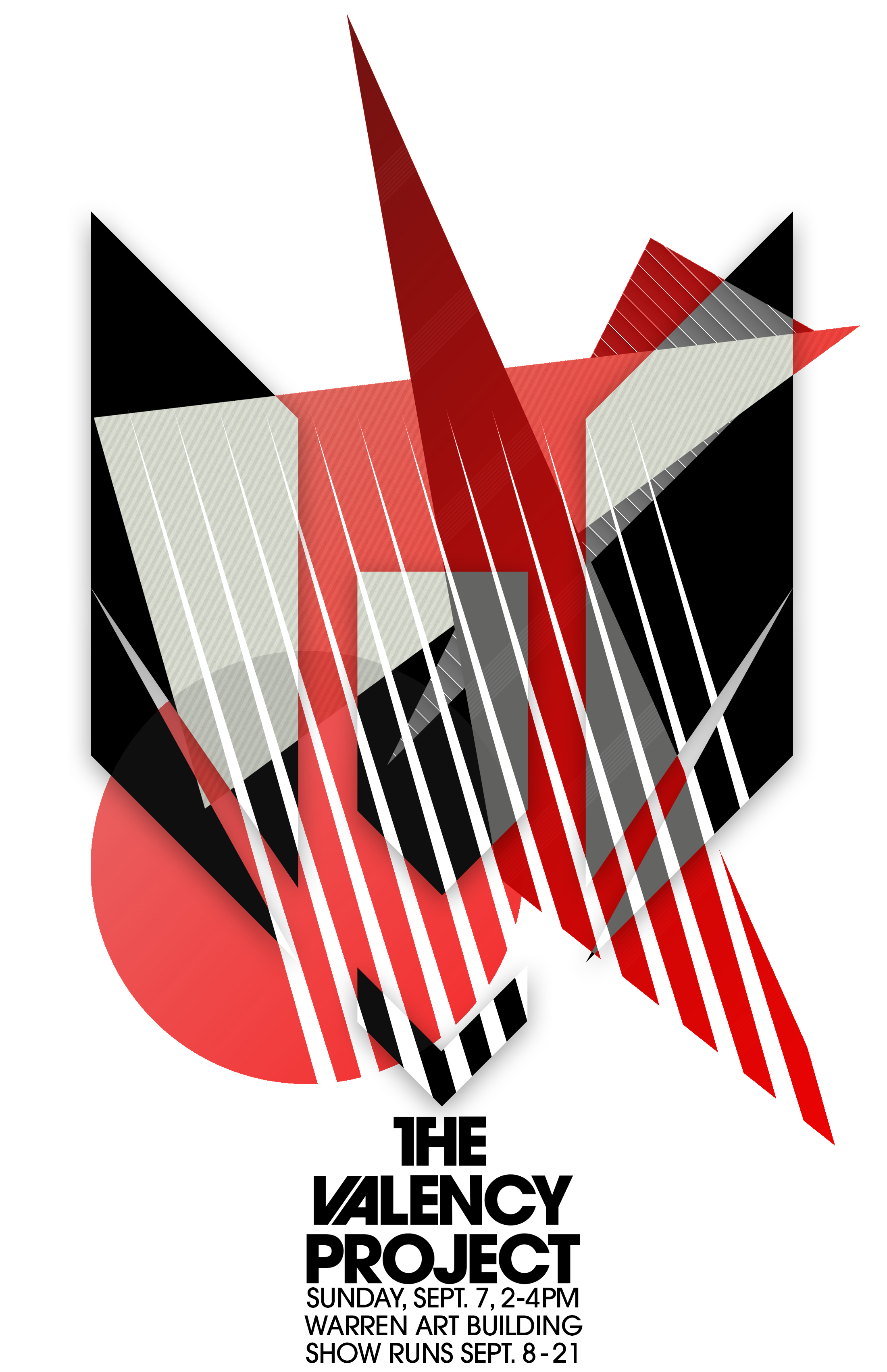 Abstract - Art Building (Warren) - An abstract take on the Valency logo
