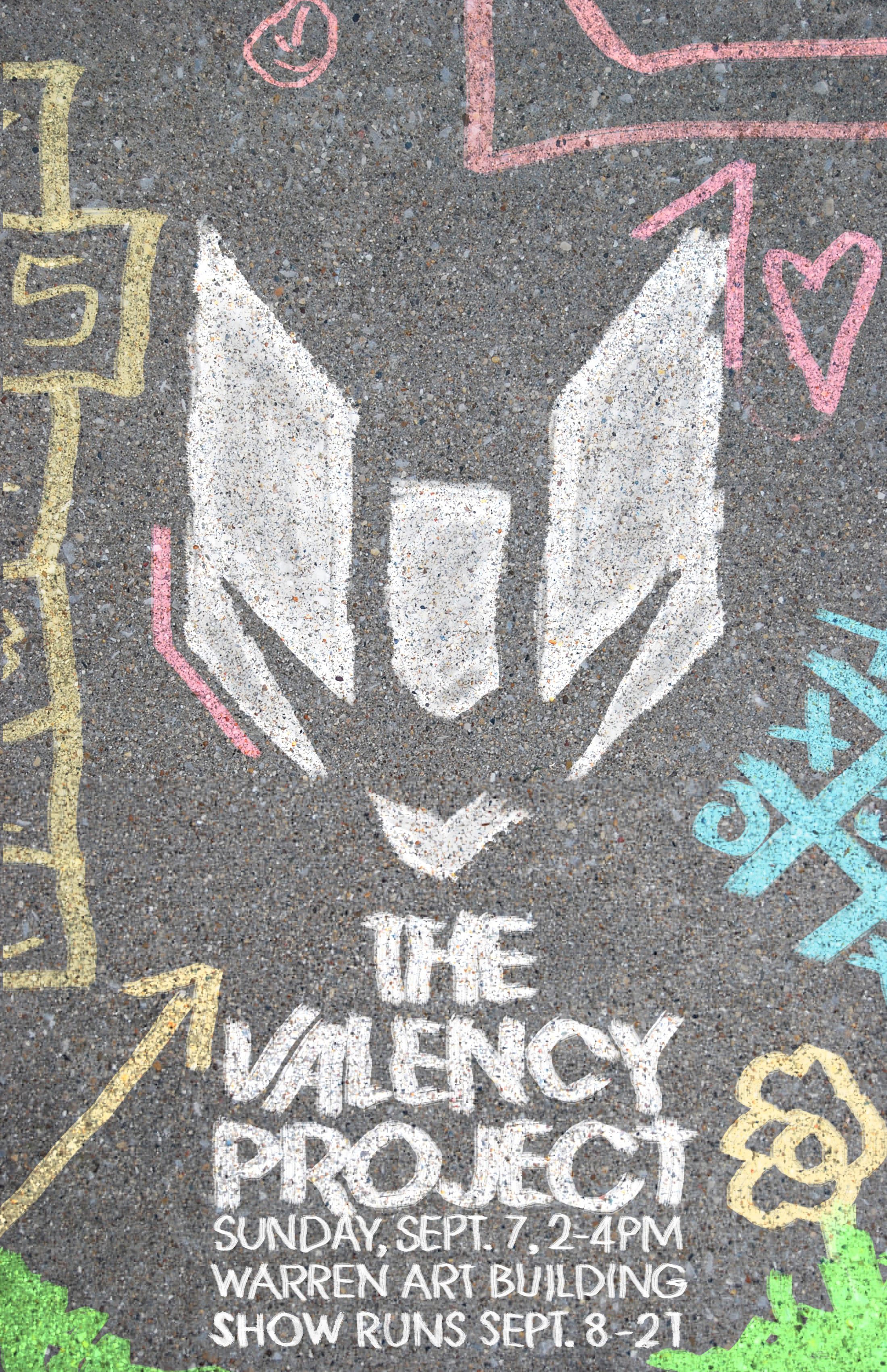 Sidewalk Chalk - Family and Consumer Sciences (Blye-Poteat) - Representative of the Child Development classes that take place here