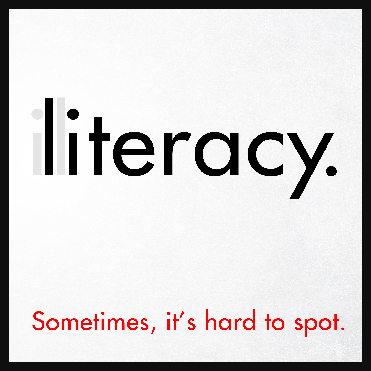 Literacy Poster
