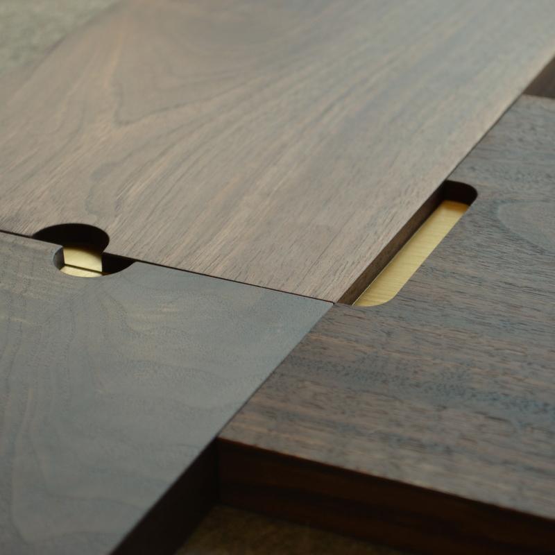 Tyler Mckenzie walnut and brass tray.JPG