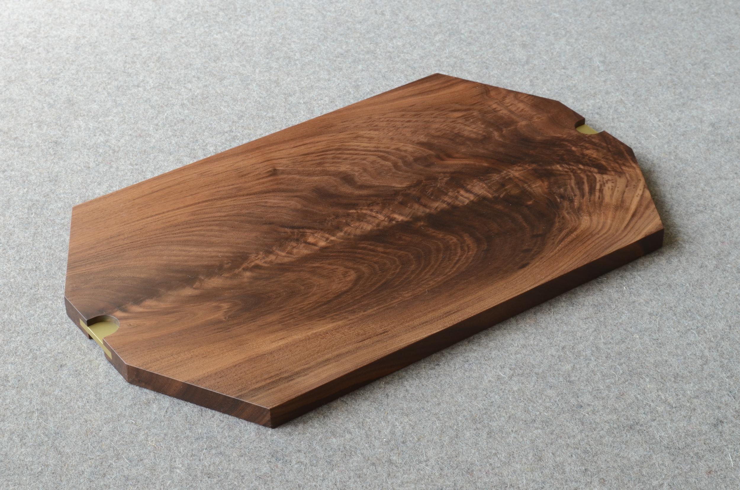 walnut tray brass Tyler Mckenzie 2