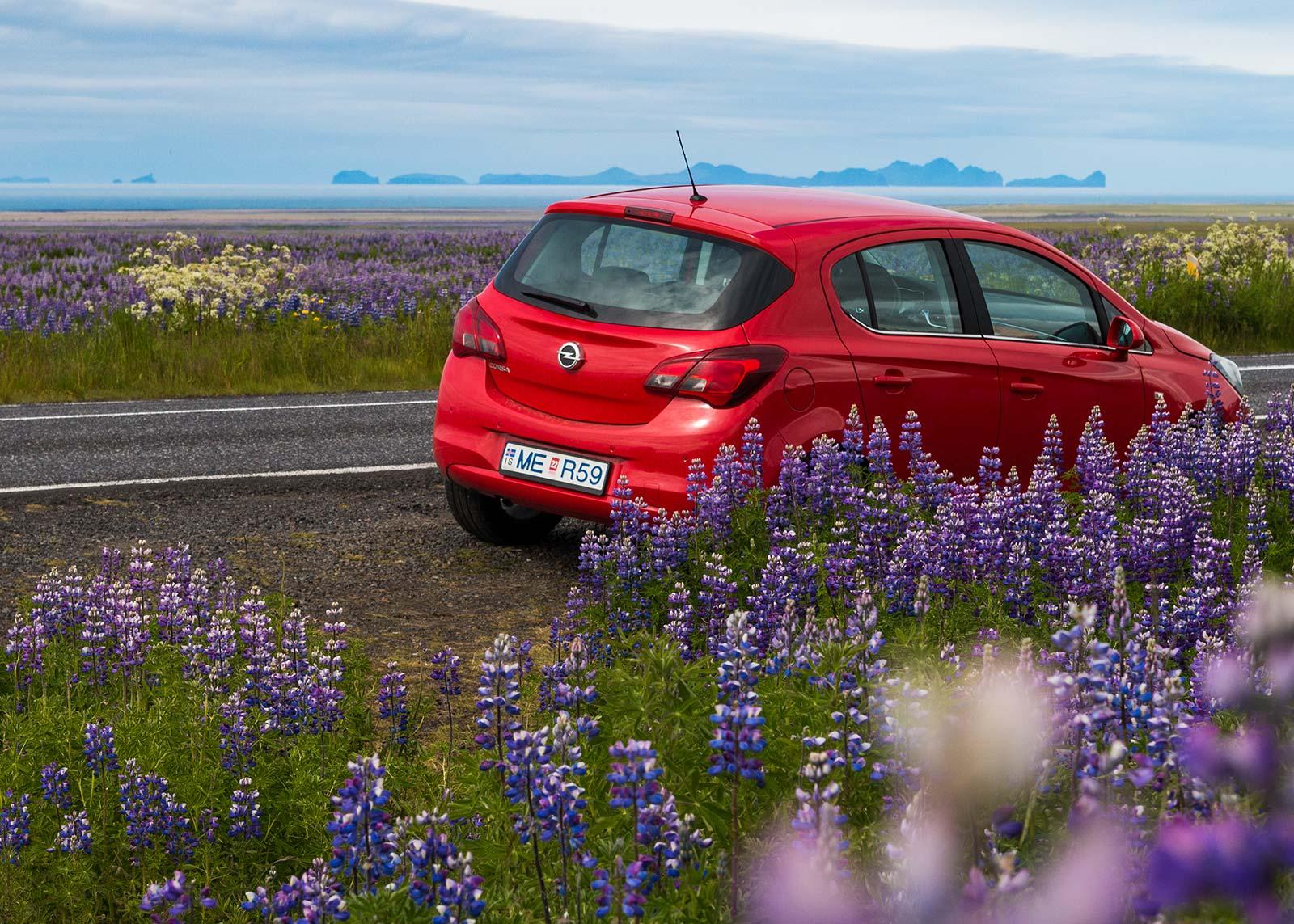Compact Opel car rental