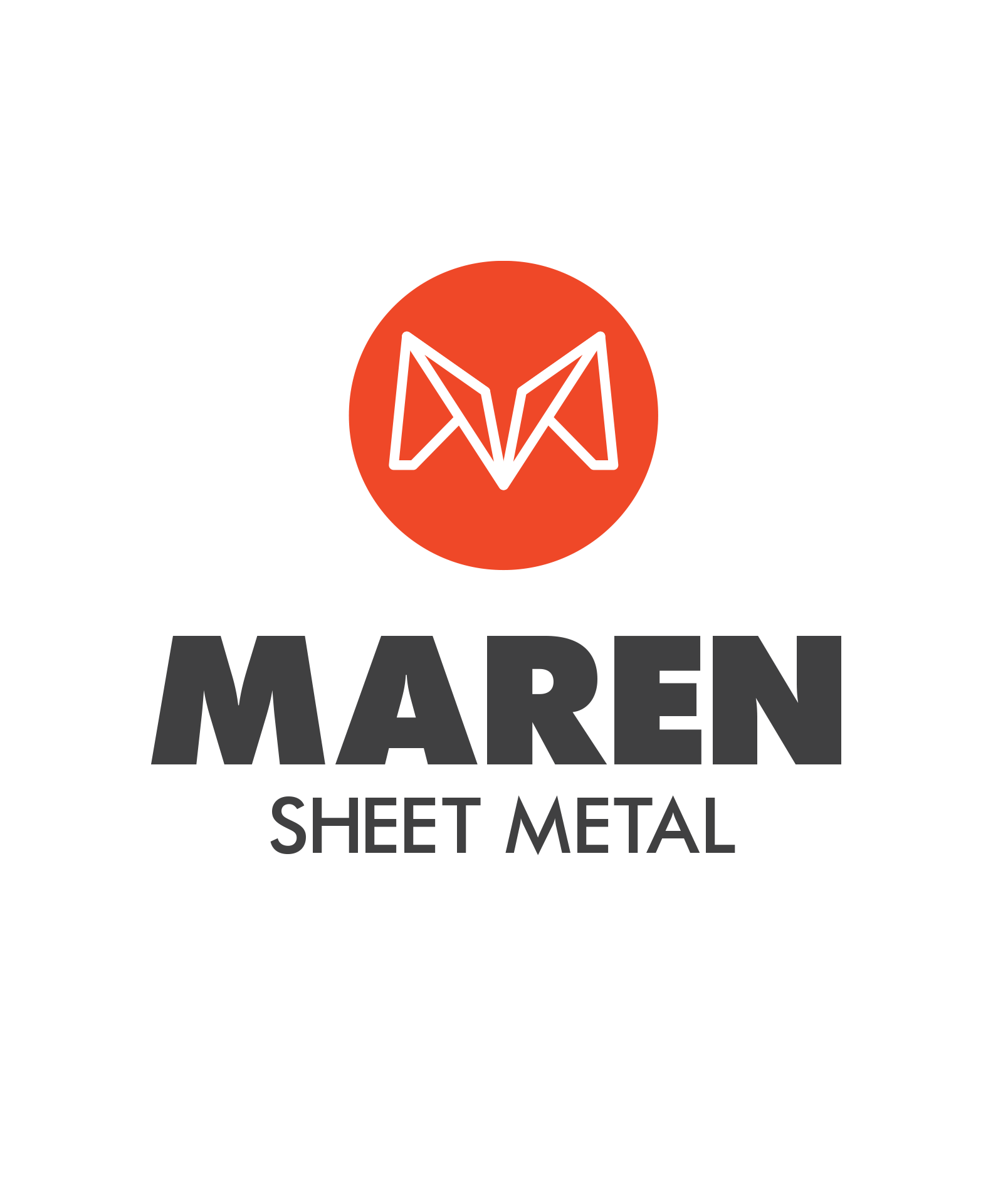 Logo design for sheet metal company