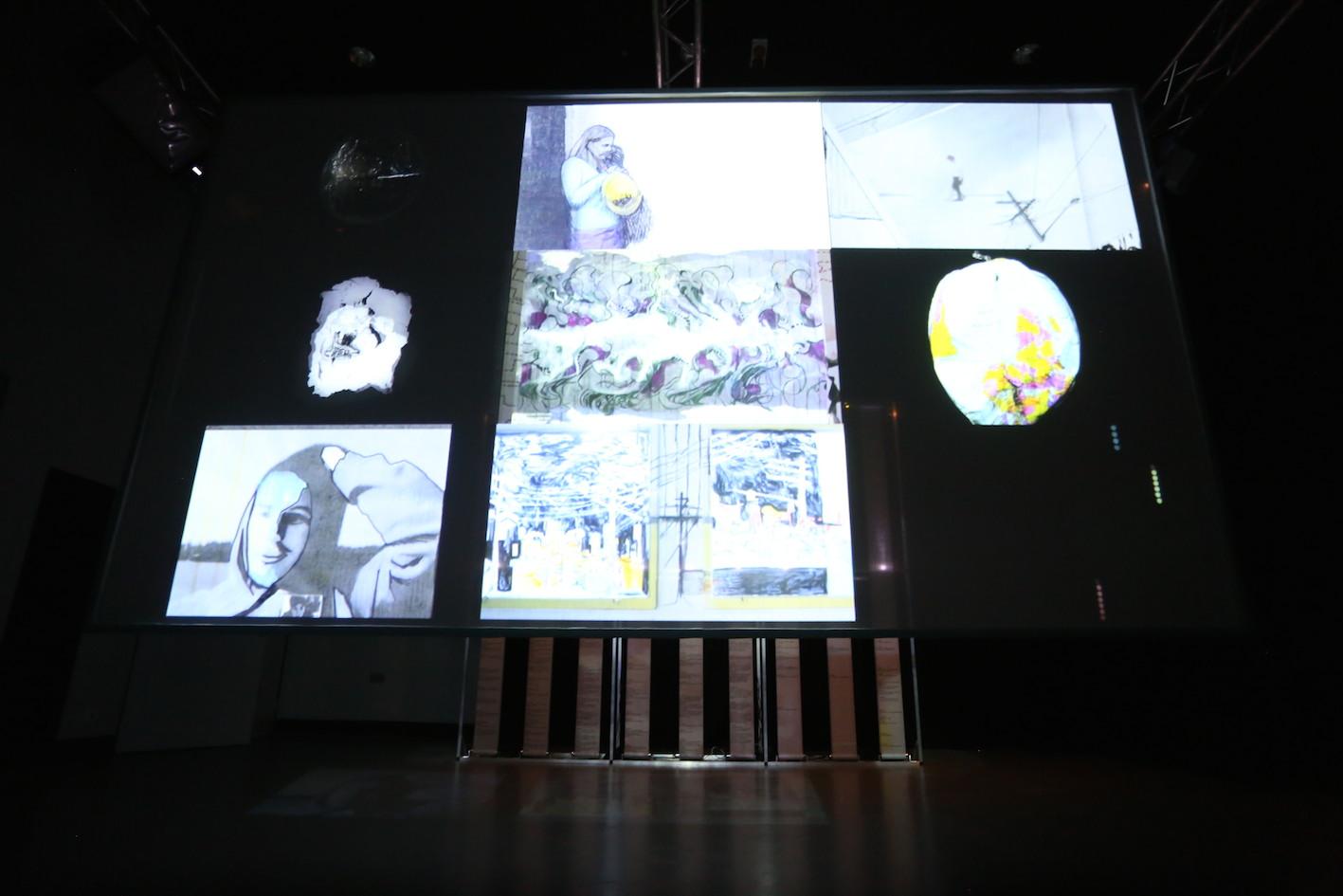Crossed Wires, installation view,UNSW Art & Design, Sydney, 2014