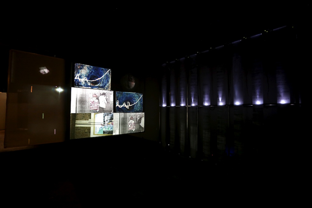 Crossed Wires, installation view,107 Projects, Sydney, 2014