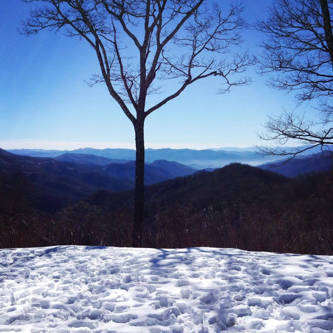 The Great Smoky/Snowy Mountains of Tennessee