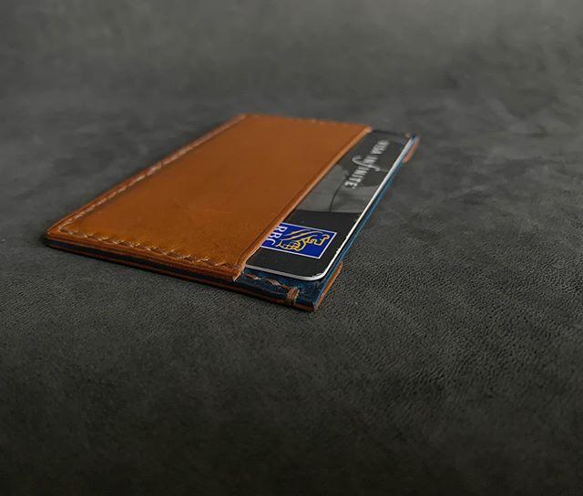 Italian Buttero Slim Card Holder