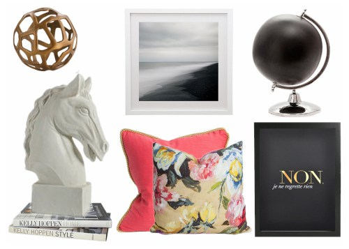 Vision Board by Interior designer Chrissy Cottrell from boutique design firm Chrissy & Co