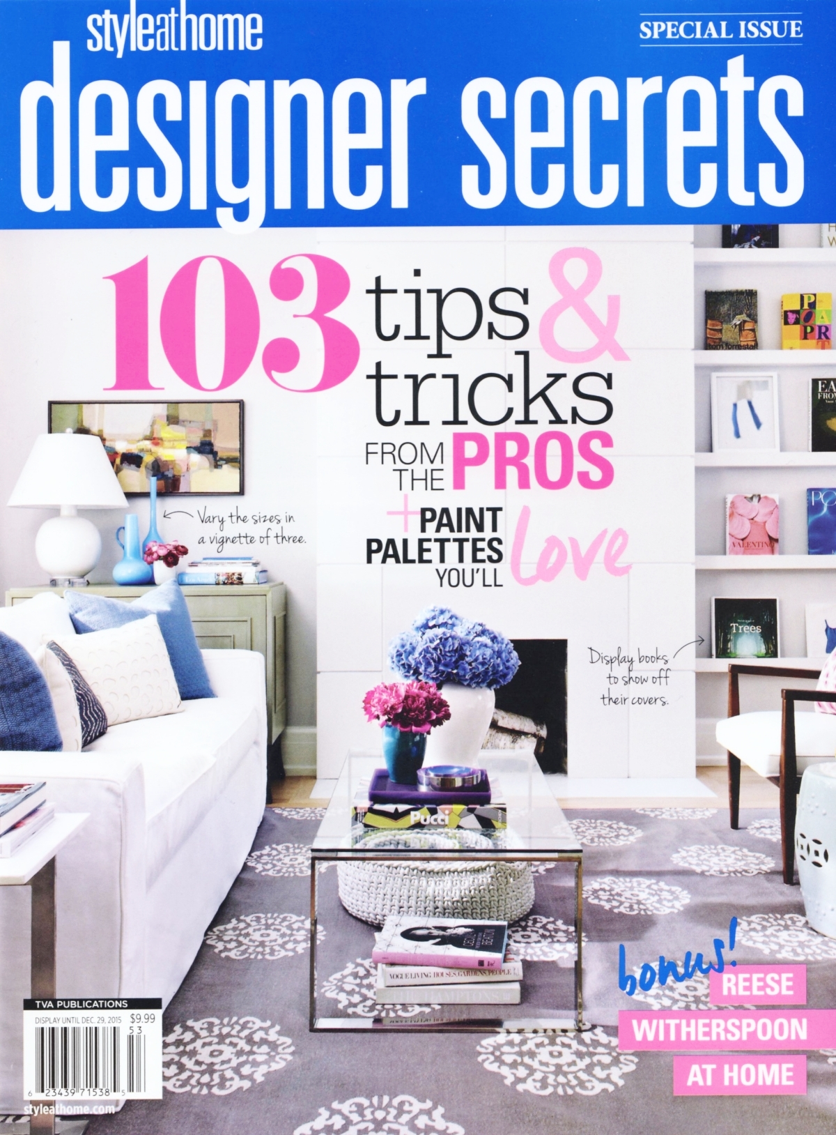 Chrissy & Co featured in designer secrets issue 2015. Design by Chrissy Cottrell owner of Curated Home Vancouver.